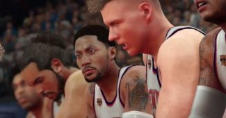 Les Knicks dans NBA2K17