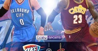 OKC VS CAVS pour les NBA Sundays