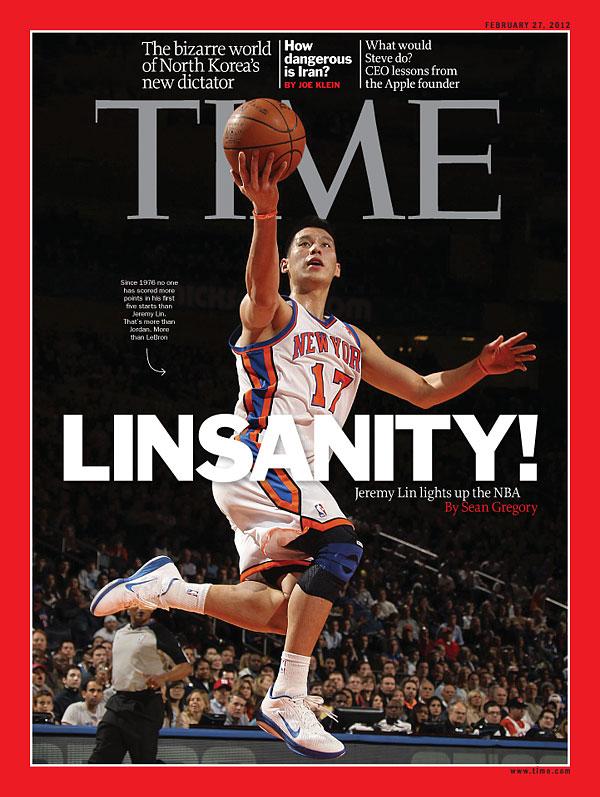 La une du Times pendant la Linsanity