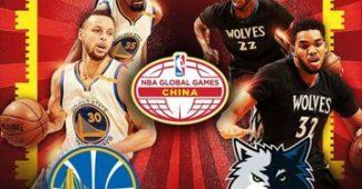Affiche des prochains NBAGlobalGames en Chine